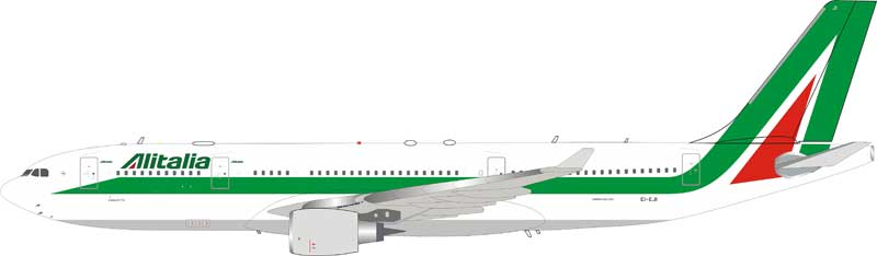 Alitalia Airbus A330-202 EI-EJI With Stand (1:200)