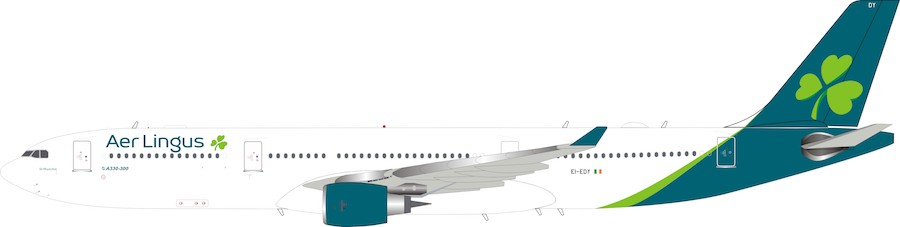 Aer Lingus Airbus A330-300 EI-EDY (1:200) - Preorder item, order now for future delivery