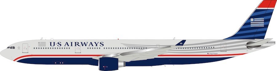 US Airways Airbus A330-300 N275AY (1:200) by InFlight 200 Scale Diecast Airliners Item Number: IF333US0519