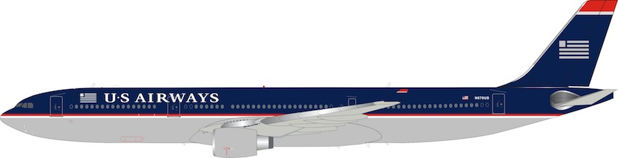 US Airways Airbus A330-323 N678US (1:200)