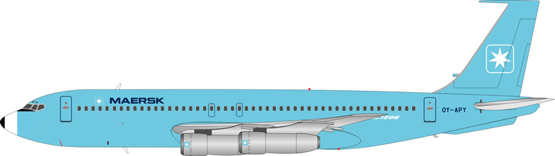 Maersk Air Boeing 720-051B OY-APY - Preorder item, order now for future delivery