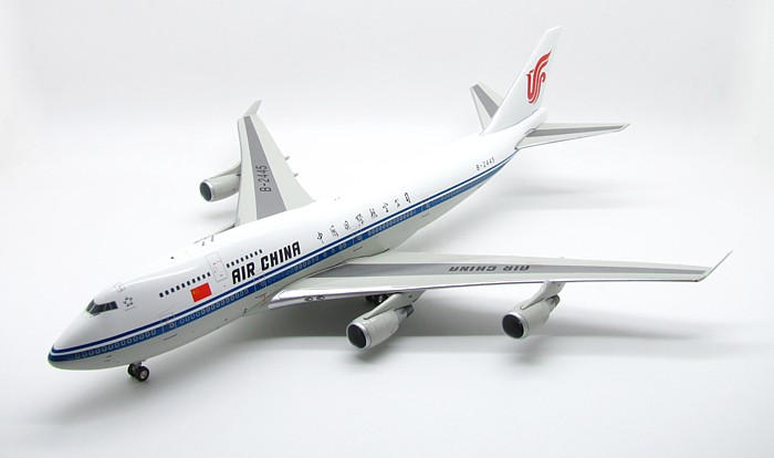 Air China 747-400 B-2445 (1:200), InFlight 200 Scale Diecast Airliners Item Number IF744603