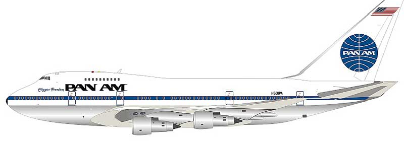 "Pan Am Boeing 747SP N531PA ""Clipper Freedom"" Polished (1:200) - Preorder item, order now for future delivery, InFlight 200 Scale Diecast Airliners Item Number IF747SP0818P"