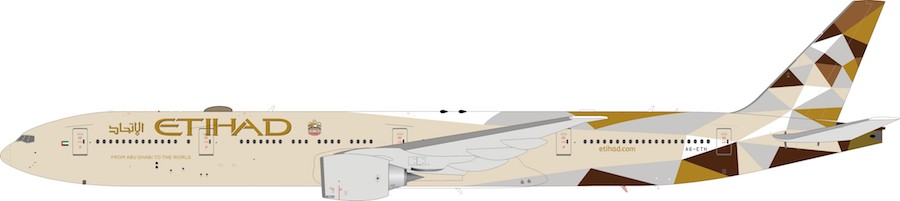 Etihad Airways Boeing 777-3FX/ER A6-ETH (1:200)