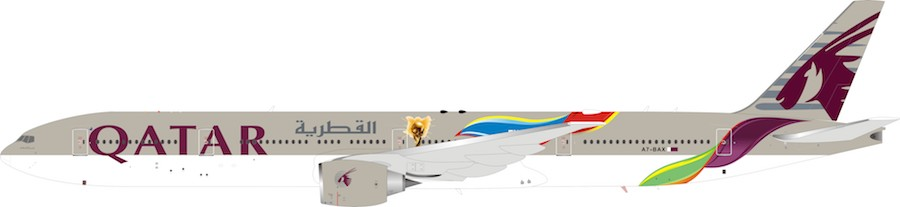 Qatar Airways Boeing 777-300ER A7-BAX (1:200) - Preorder item, order now for future delivery