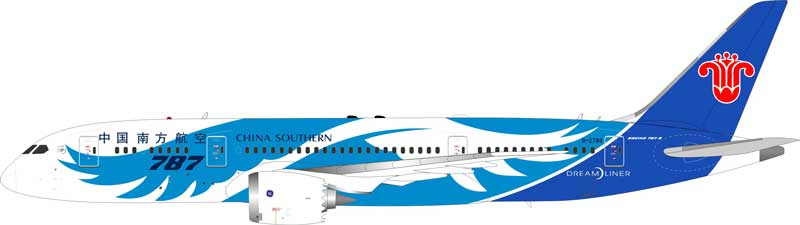 China Southern Airlines Boeing 787-8 Dreamliner B-2788 (1:200), InFlight 200 Scale Diecast Airliners Item Number IF7870416