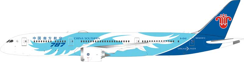 China Southern Airlines Boeing 787-9 Dreamliner B-1242 (1:200) - Preorder item, order now for future delivery
