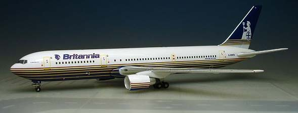 Britannia Airways 767-300 (1:500), InFlight 500 Scale Diecast Airline models Item Number IF5763009