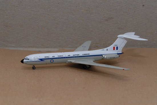 RAF VC-10 Royal Air Force Air Support Command (1:400), Jet X 1:400 Diecast Airliners, Item Number JET409
