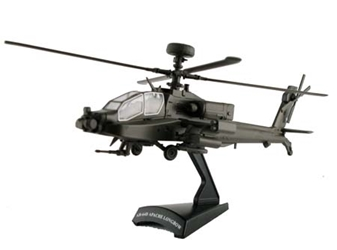 Apache Helicopter (1/100), Model Power Diecast Planes Item Number MP5600