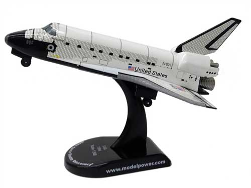 NASA Space Shuttle Discovery (1:300), Model Power Diecast Planes Item Number MP5823-2