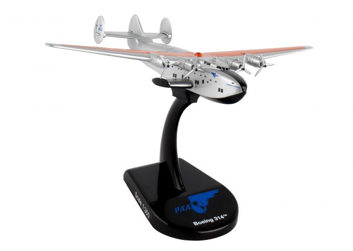 Pan Am Boeing B314 Clipper Flying Boat NC18603 (1:350) by Postage Stamp Diecast Planes item number: PS5821