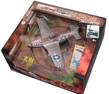 P-51 Mustang (1:48) by Motormax Diecast