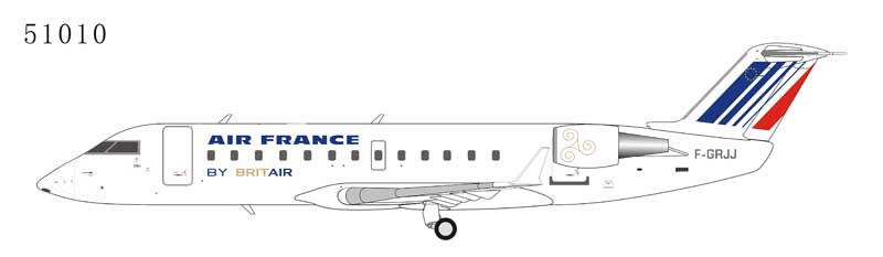 Air France CRJ-100ER F-GRJJ operated by British Air (1:200) by NG Models Item Number: 51010