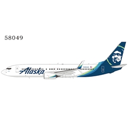 Alaska Airlines 737-800 N565AS New color; with scimitar winglets (1:400)