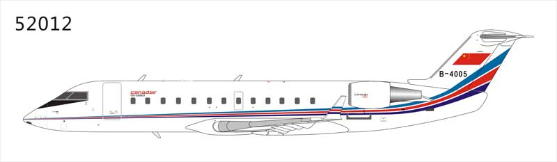 China Air Force CRJ-200LR B-4005 (1:200), NG Models Item Number NG52012