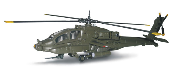Apache AH-64 (1:60), New Ray Diecast Item Number NR25527