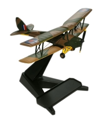 de Havilland DH.82A Tiger Moth (1:72), Oxford Diecast 1:72 Scale Models Item Number 72TM001