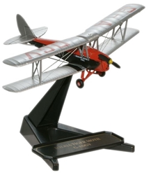 de Havilland DH.82A Tiger Moth Brooklands Aviation (1:72), Oxford Diecast 1:72 Scale Models Item Number 72TM002