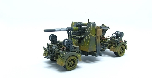 88mm Flak 36, Camouflage (1:72), Precision Model Art Item Number PMA-P0312