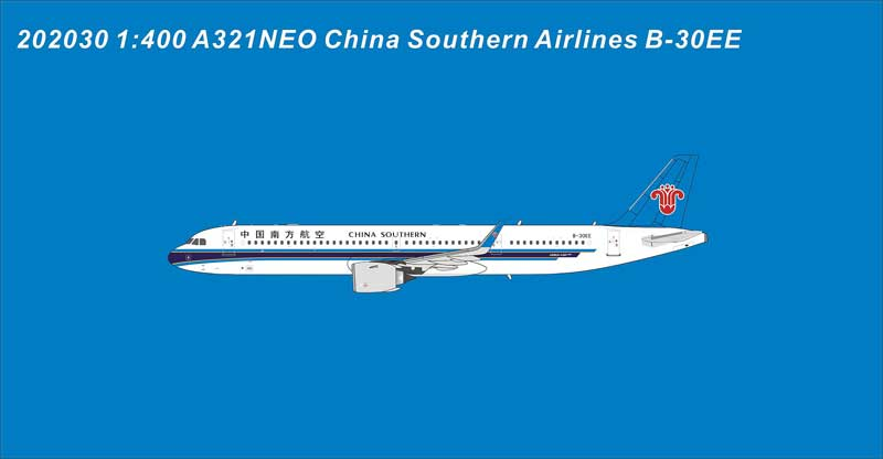 China Southern Airlines A21NEO B-30EE (1:400)
