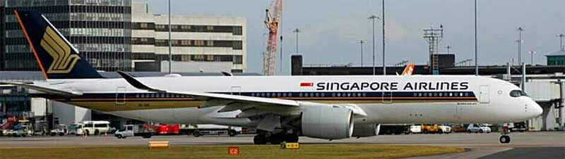 Singapore A350-900 9V-SMI (1:400) - Preorder item, order now for future delivery