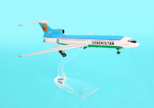 Uzbekistan Tu-154m ~UK85711 (1:400), Phoenix 1:200 Scale Diecast Aircraft Item Number PH2UBZ068