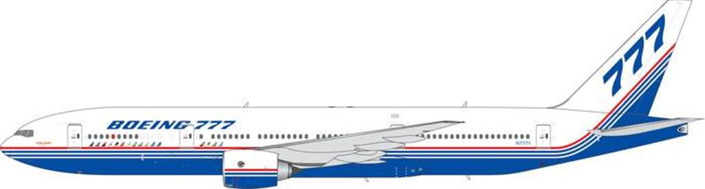 Boeing B777-200 Old House Livery N7771 (1:400), Phoenix 1:400 Scale Diecast Aircraft, Item Number PH4BOE1839