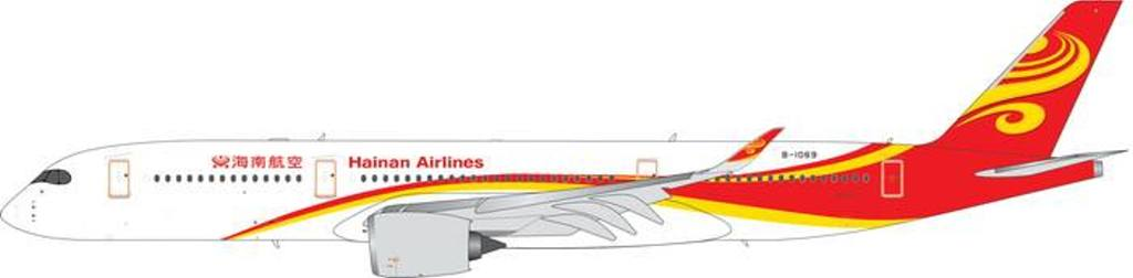 Hainan Airlines A350-900 B-1069 (1:400), Phoenix 1:400 Scale Diecast Aircraft, Item Number PH4CHH1841