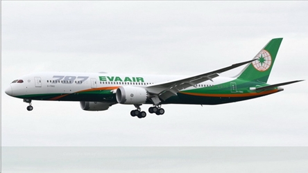 EVA Air B787-9 New Livery B-17882 (1:400) -, Phoenix 1:400 Scale Diecast Aircraft, Item Number PH4EVA1834