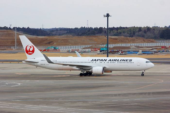 JAL Japan Airlines B767-300ER JA621J (1:400)