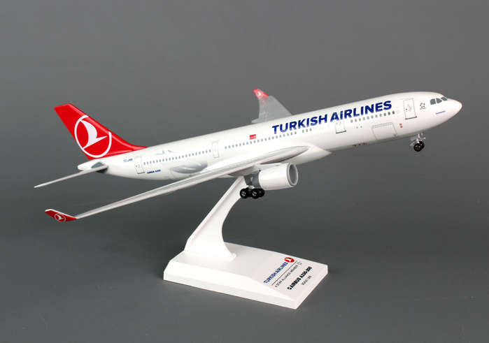 Turkish A330-200 (1:200) with Gear