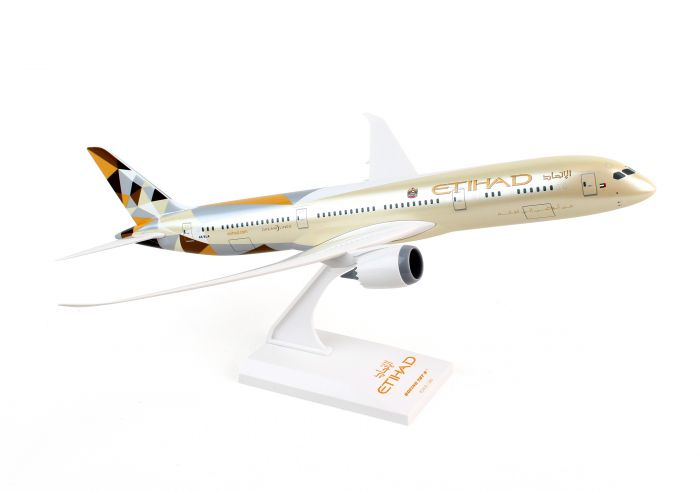 Etihad Airways 787-9 (1:200) by SkyMarks Airliners Models item number: SKR834