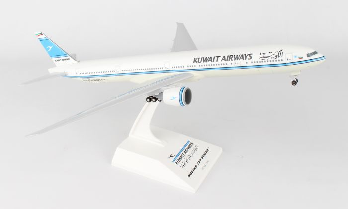 Kuwait Airways 777-300ER (1:200) by SkyMarks Airliners Models item number: SKR891