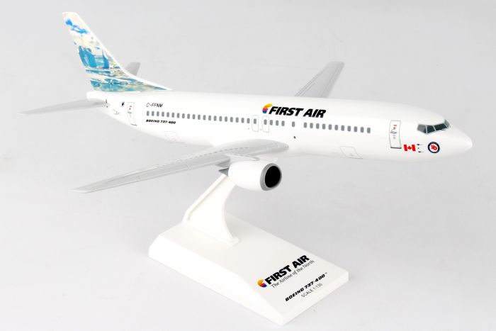 "First Air 737-400 ""Iceberg Tail"" C-FFNM (1:130) by SkyMarks Airliners Models item number: SKR905"