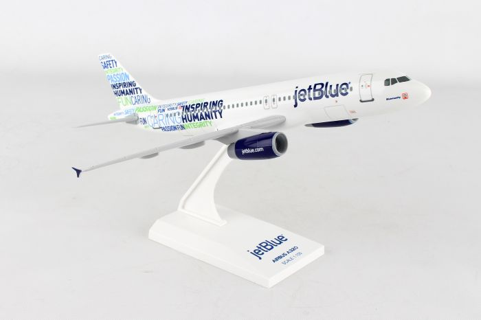 "Jetblue A320 ""Bluemanity"" (1:150) by SkyMarks Airliners Models item number: SKR974"