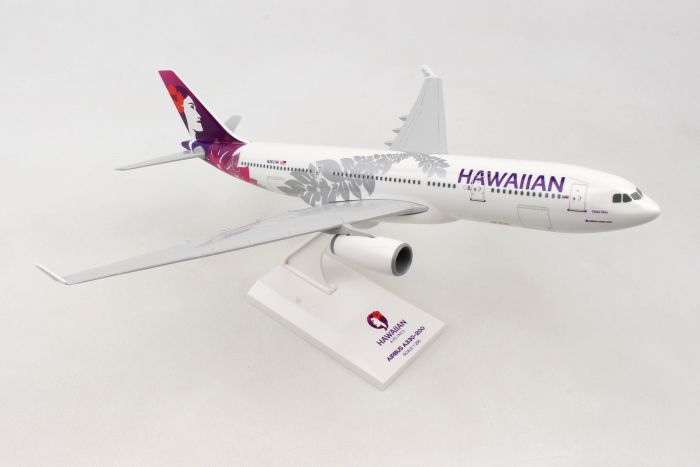 Hawaiian A330-200 (1:200) by SkyMarks Airliners Models item number: SKR987