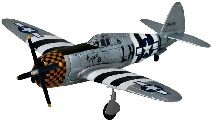 P-47 Thunderbolt (1:48), Smithsonian Replica Series Item Number SL-P47