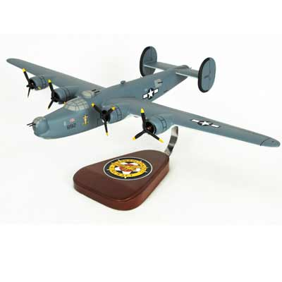 PB4Y-1 Navy Liberator (1:66), TMC Pacific Desktop Airplane Models Item Number AB24Y1