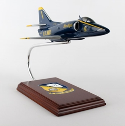 A-4F Blue Angels (1:40), Executive Series Display Models, Item Number C8240