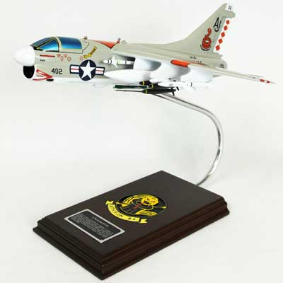 A-7B Corsair II USN (1:40), TMC Pacific Desktop Airplane Models Item Number CA07NTE