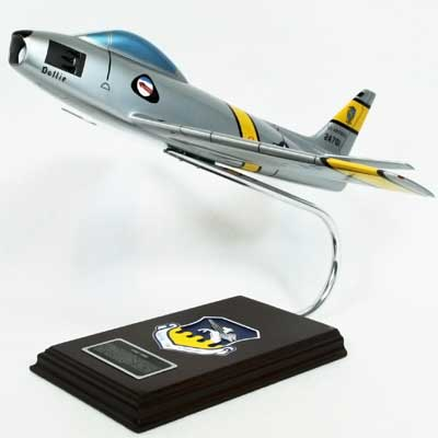 F-86F Sabre (1:32), TMC Pacific Desktop Airplane Models Item Number CF086TE