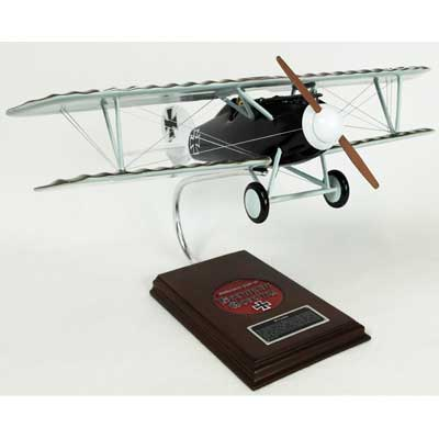 "Albatros D.V ""Goring"" (1:20), TMC Pacific Desktop Airplane Models Item Number FGD5TE"