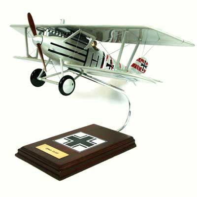 Pfalz D-III Fighter (1:20), TMC Pacific Desktop Airplane Models Item Number FGPD3TE