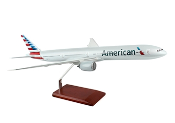 American Airlines 777-300 New Colors (1:100), Executive Series Display Models Item Number G42100