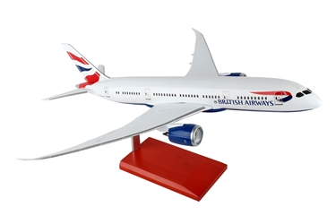 British Airways 787-900 New Livery (1:100) by Executive Series Display Models item number: G54310