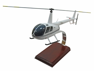 Robinson R-44 Model Helicopter (1:24), TMC Pacific Desktop Airplane Models Item Number HR44TR