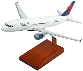 A320 Delta (1:100), TMC Pacific Desktop Airplane Models Item Number KA320DTR