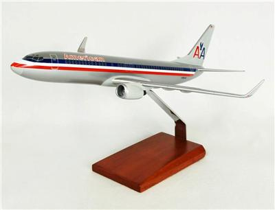 American B737-800 (1:100) by Executive Series Display Models item number: KB737AATR