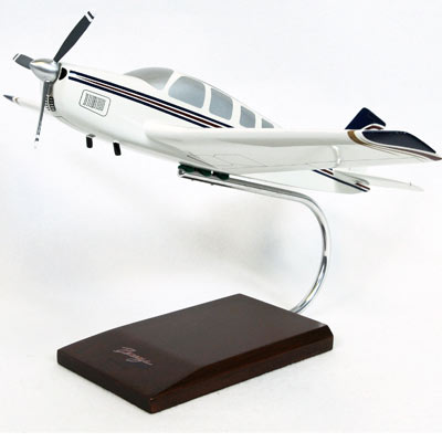 A-36 Bonanza (1:24), TMC Pacific Desktop Airplane Models Item Number KBC36T